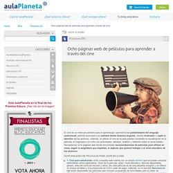 Ocho páginas web de películas para aprender a través del cine