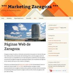 Páginas Web de Zaragoza