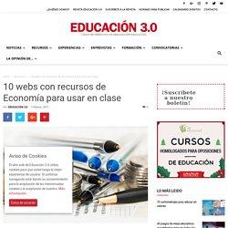 5 páginas webs con recursos de Economía