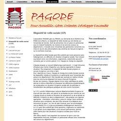 PAGODE - Dispositif de veille social (115)
