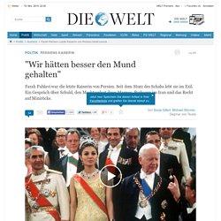 Farah Pahlavi: Letzte Kaiserin von Persien blickt zurück