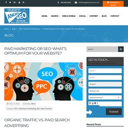 What's Optimum for Your Website Paid Marketing or SEO