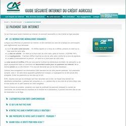 Le paiement sur Internet - Guide sécurité
