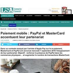 Paiement mobile : PayPal et MasterCard...