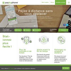 PayByPhone, le paiement mobile en France