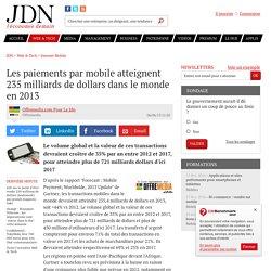 Les paiements par mobile atteignent 235 milliards de dollars dans le monde en 2013