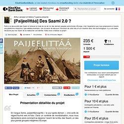 Arthur Janssen et Hélène Tuypens présente [Paijeelittáá] Des Saami 2.0 ?