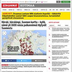 Härskit paikannimet Suomessa: Kyllä, nämä yli 1600 hävytöntä paikannimeä löyt...