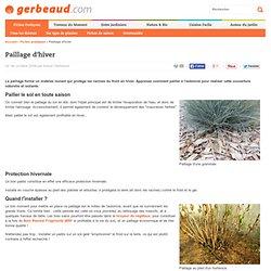 Paillage en hiver : protéger les plantes contre le gel