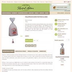 Paillettes de Savon pur pour le linge parfumées à la Rose de Grasse 750 g - Produits pour la maison - Savonnerie RAMPAL LATOUR - Provence - France
