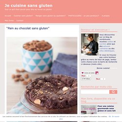 pain au chocolat sans gluten