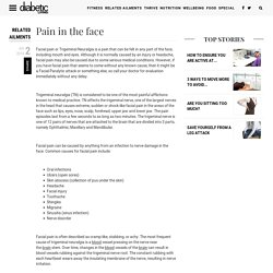 Diabetic Facial Pain Treatment