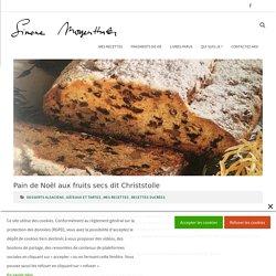 Pain de Noël aux fruits secs dit Christstolle