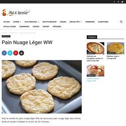 Pain Nuage Léger WW