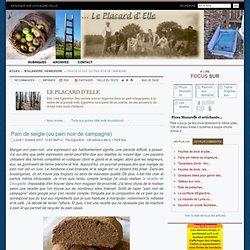 Pain de seigle (ou pain noir de campagne) MaBulle