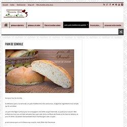 pain de semoule - blog 1 amour de cuisine algerienne chez soulef