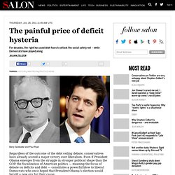 The painful price of deficit hysteria - History