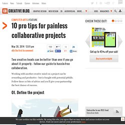 10 tips for painless collaborative projects