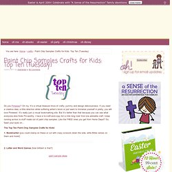 Paint Chip Samples Crafts for Kids Top Ten