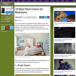 10 Best Paint Colors for Bedrooms