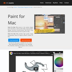 Paint for Mac Pro - Free Download Mac Paint Tool