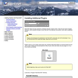 Paint.NET Documentation