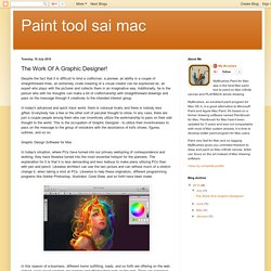 My Brushes App: The Work Of A Graphic Designer!