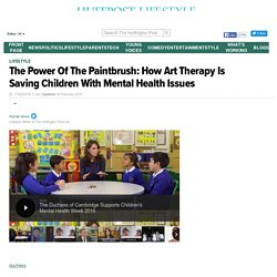 The Power Of The Paintbrush: How Art Therapy Is Saving Children With Mental Health Issues