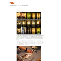 painted fish studio » Blog Archive » pARTy : lights