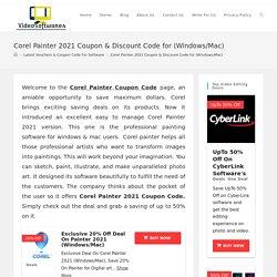 Corel Painter 2021 Coupon Code & Discount Promo Offers