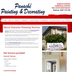 Commercial, Exterior, Interior House Painting Sydney