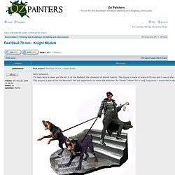 Oz Painters • View topic - Red Skull 70 mm - Knight Models