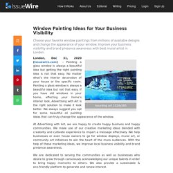 Get the Best Window Painting Ideas for Your Business