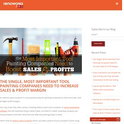 Painting Companies Most Important Tool To Increase Sales & Profit Margin
