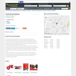 Painting Contractors Lidcombe