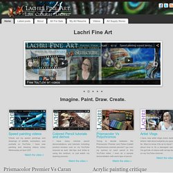 Painting and drawings, art product reviews, painting demonstrations