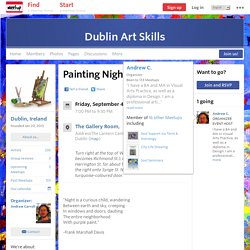 Painting Night - Dublin Art Skills (Dublin)