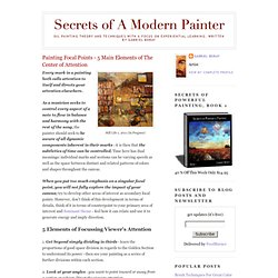 Secrets of A Modern Painter