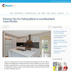 Painting Tips for your Kitchen