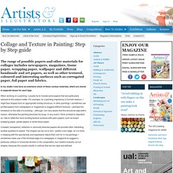 Collage and Texture in Painting: Step by Step guide