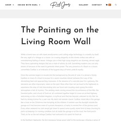 The Painting on the Living Room Wall - Ruel James Gallery