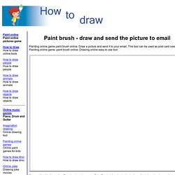 Painting online game paint brush online