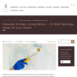 15 Wall Painting Ideas for your home- Remodel & Make Living Better