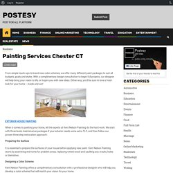 Painting Services Chester CT - Postesy