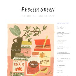 Painting Spices! — Rebecca Green