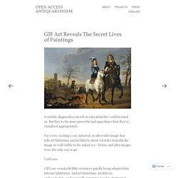 GIF Art Reveals The Secret Lives of Paintings
