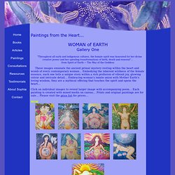 Paintings from the Heart ~~ Galleries by Roslyne Sophia Breillat