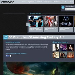 50 examples of amazing fantasy art - Coolvibe