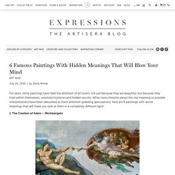 6 Famous Paintings With Hidden Meanings That Will Blow Your Mind – Artisera