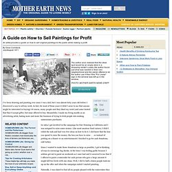 A Guide on How to Sell Paintings for Profit - Modern Homesteading